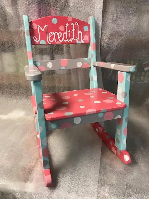 old fashioned birthing chairs vanity chair with back etsy child s rocking cool colors
