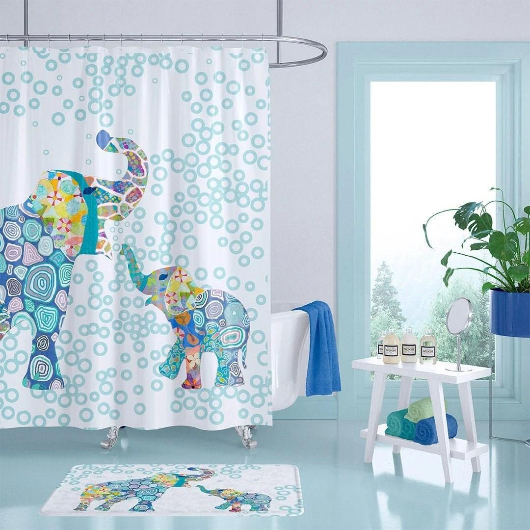 boys shower curtain etsy