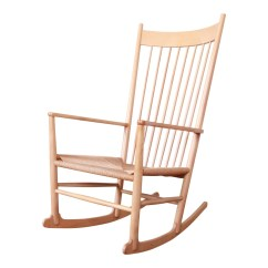Hans Wegner Rocking Chair Round Portable Folding Etsy J J16 Danish