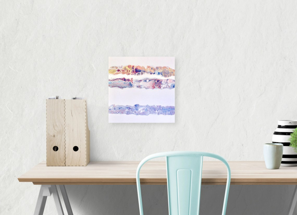 Abstract Painting, Wood P...