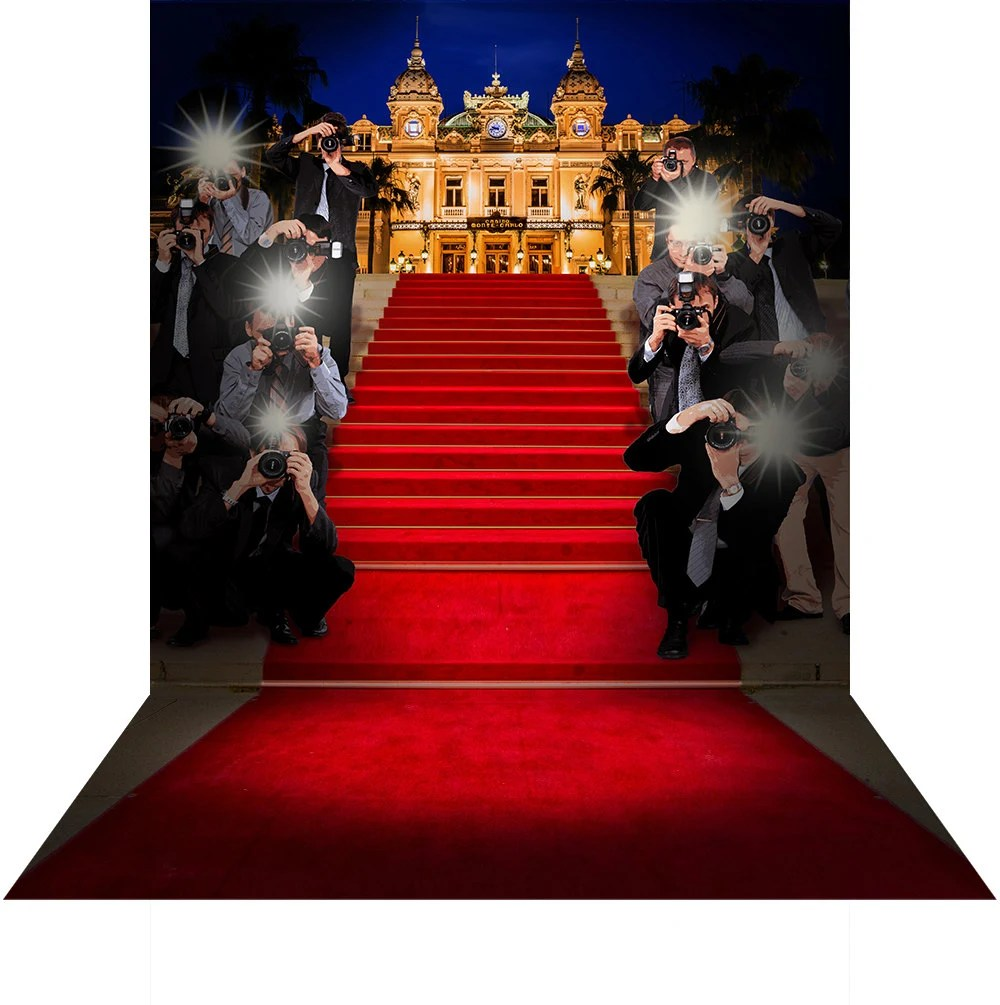 Paparazzi Roter Teppich Monte Carlo Red Carpet Paparazzi Hollywood Photo Backdrop With Flashbulbs And Bling Party Decor For A Dance Event Venue Gala Fundraiser