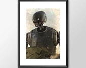 Rogue One K2so - Star wars - PRINTED Boys girls Geek kids man cave nerds bedroom office