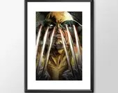 Wolverine Claws - PRINTED -  for the Big Boys Geek man cave nerds bedroom office superhero marvel comics