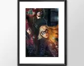 Arrow - Tv Series  - PRINTED  for the Big Boys Geek man cave nerds bedroom office kids superhero marvel comics