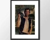 Han Solo Number 2 - Star wars - PRINTED Boys girls Geek kids man cave nerds bedroom office