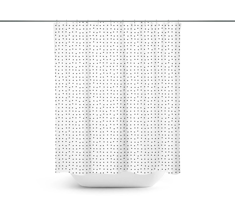 Small Circles Polka Dots Organic Pattern Modern Cool