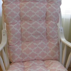 Pink Nursery Rocking Chair Baby Swinging Model No Ts Bs 16 Etsy Glider Or Cushions Set In Pale Pastel And White Quatrefoil Girl Rockers Dutailier