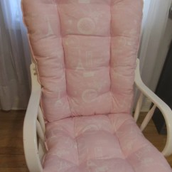 Pink Nursery Rocking Chair Lift Covers Walmart Free Ship Glider Or Cushions Set In Paris Etsy Image 0