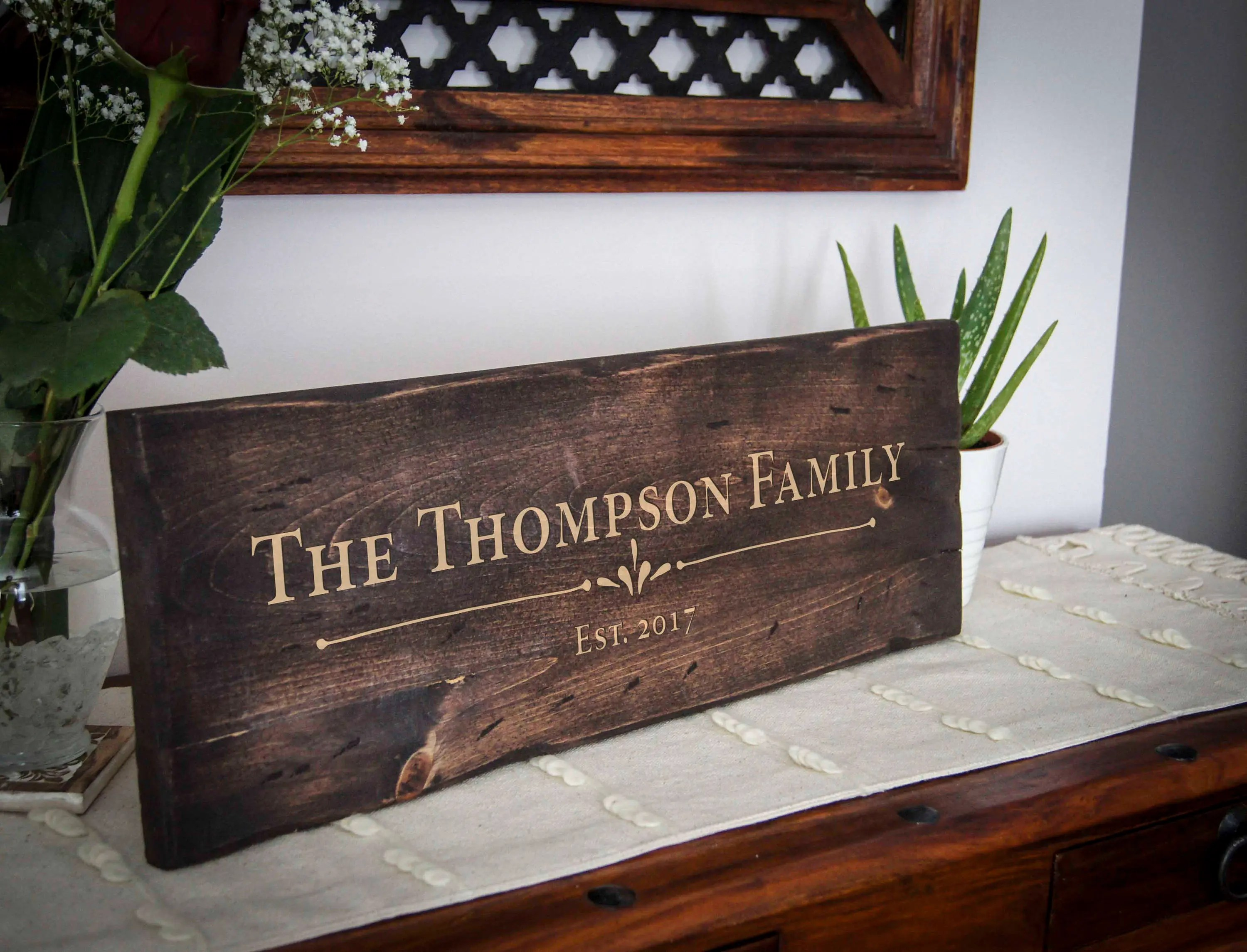 custom wood signs personalized