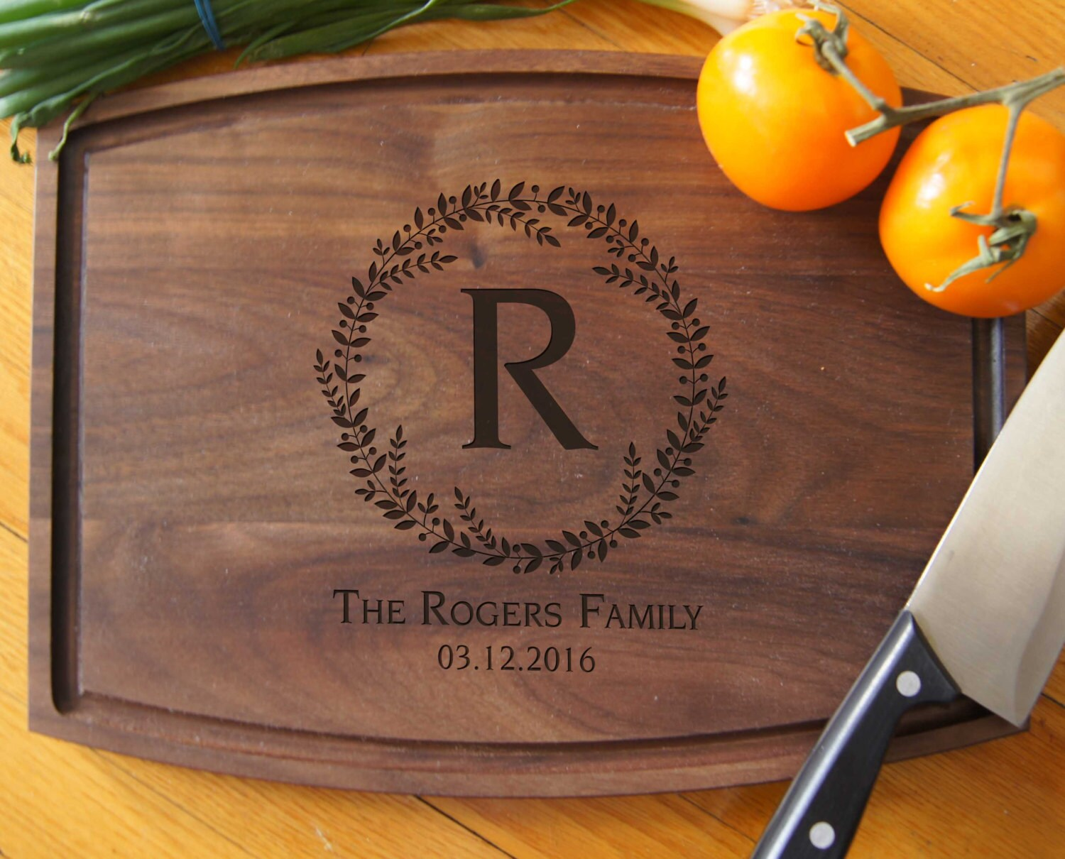 Personalized Cutting Boards Engraved cutting board image 1