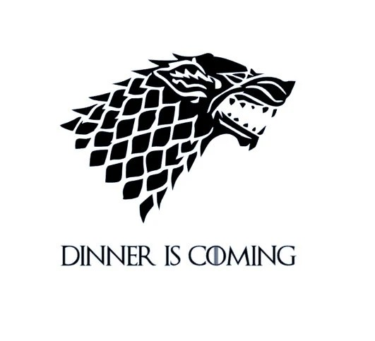 Dinner Is Coming Decal / Game of Thrones Instant Pot Decal