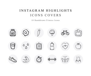 Instagram Story Highlight Covers Etsy