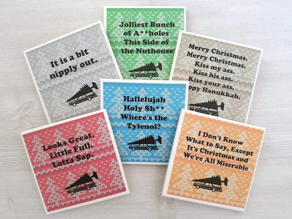 Christmas Vacation Quotes National Lampoons Christmas Vacation Etsy