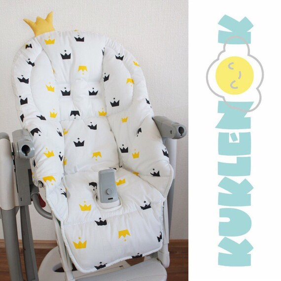 peg perego tatamia high chair best ergonomic chairs 2017 cover for the highchair double sided etsy image 0