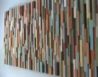 Modern wood art | Etsy