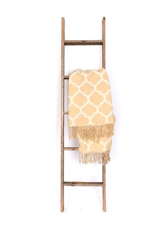 echelle de couverture echelle decorative echelle en bois echelle rustique echelle en bois echelle de serviette echelle de courtepointe tailles