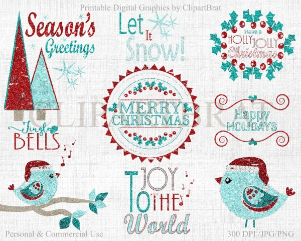 christmas clipart commercial