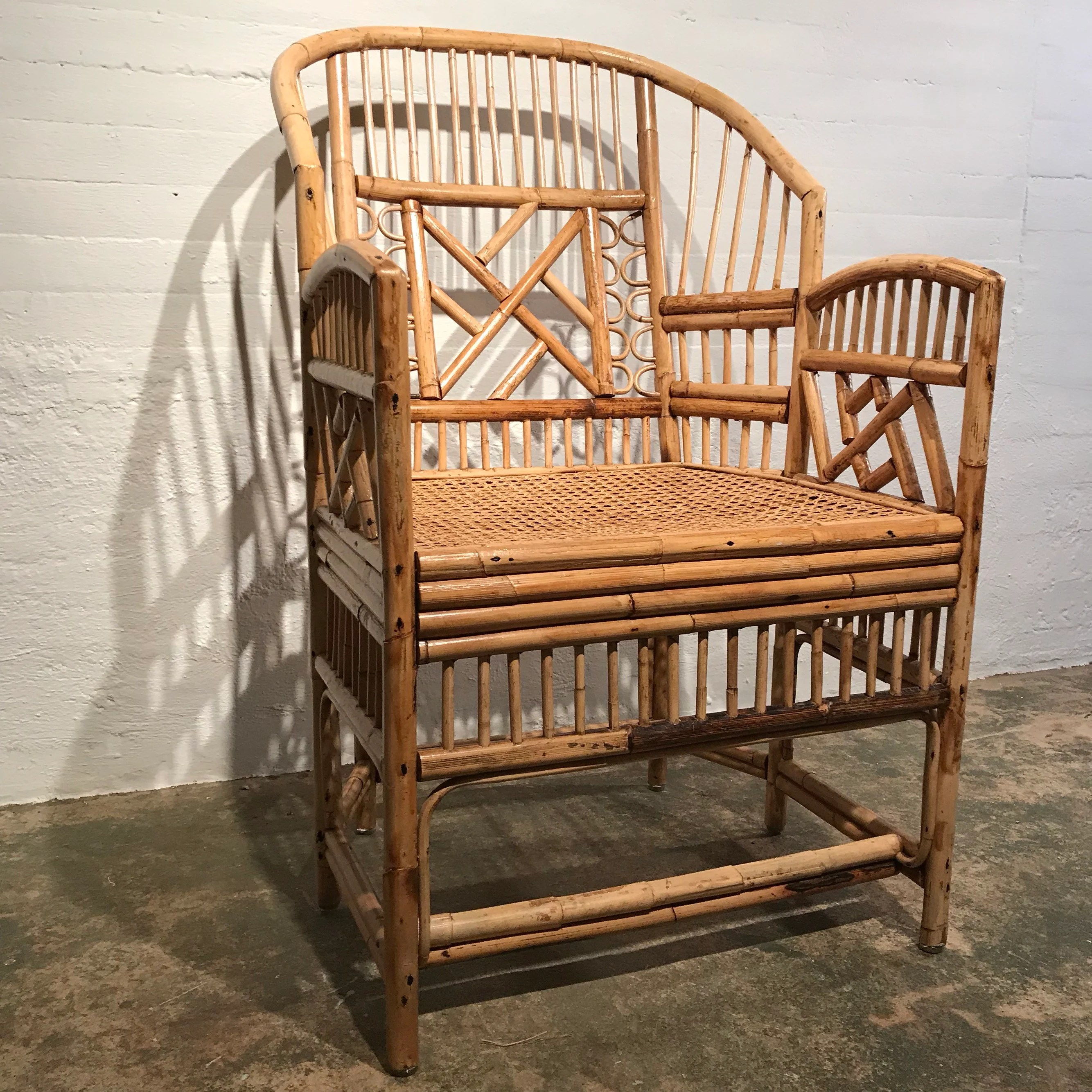 bamboo chairs for sale old wooden chair etsy vintage