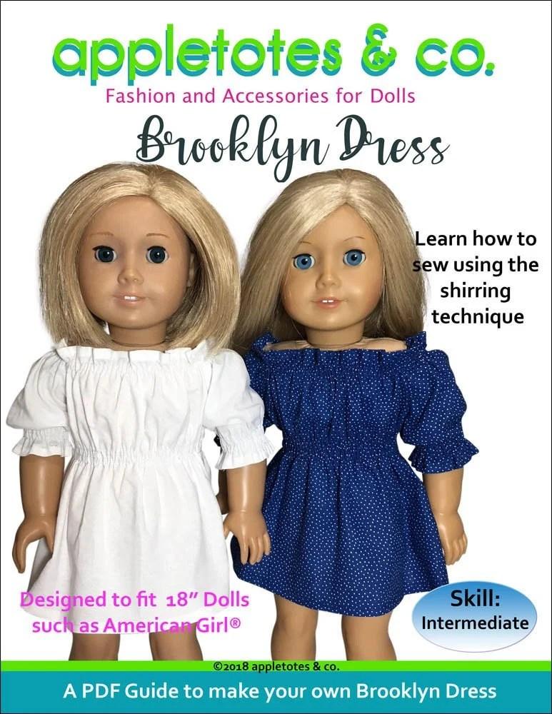18 Inch Doll Dress Patterns : dress, patterns, American, Sewing, Patterns, Dress, Pattern