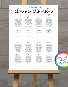 Image also portrait wedding seating chart board white poster printable etsy rh