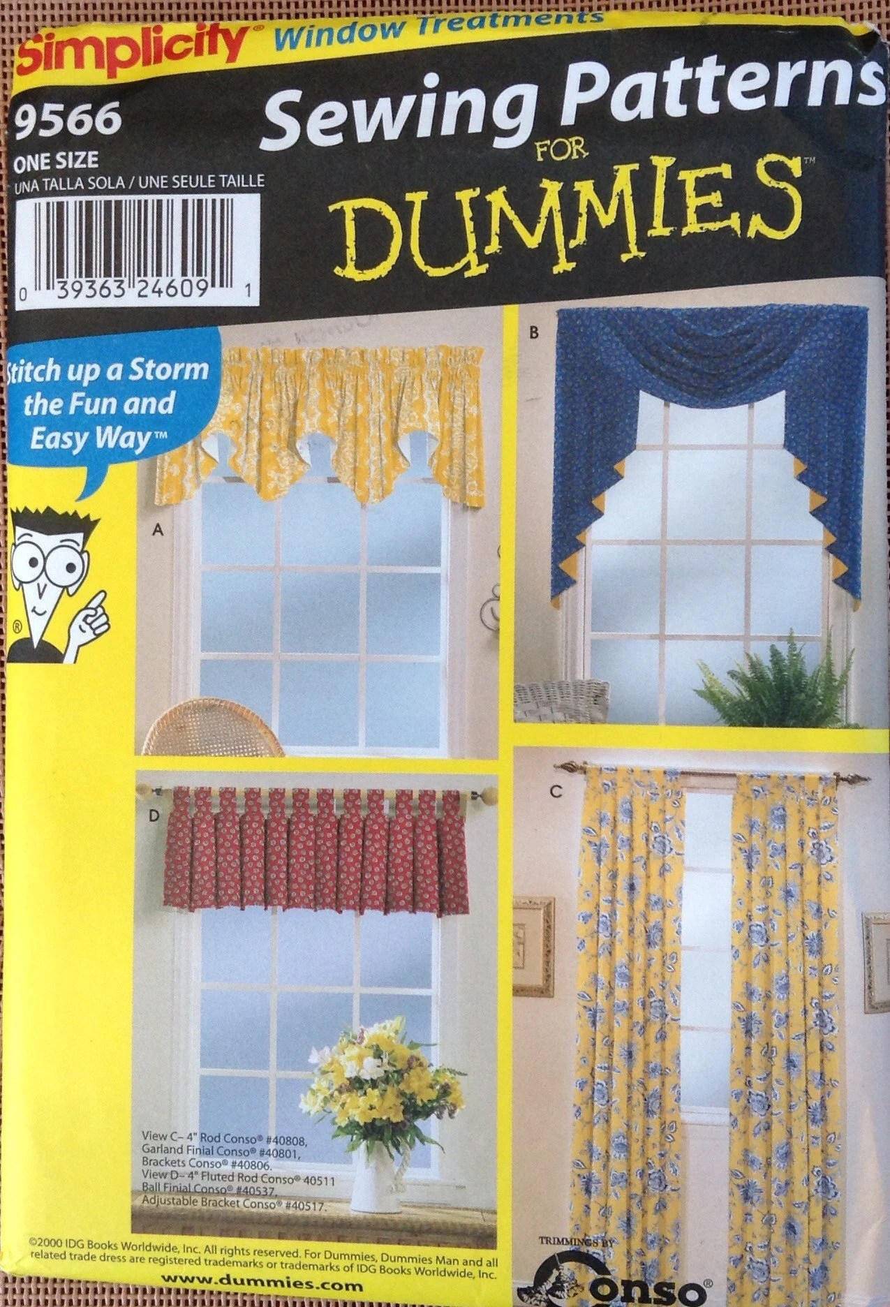 curtains and drapes sewing pattern for
