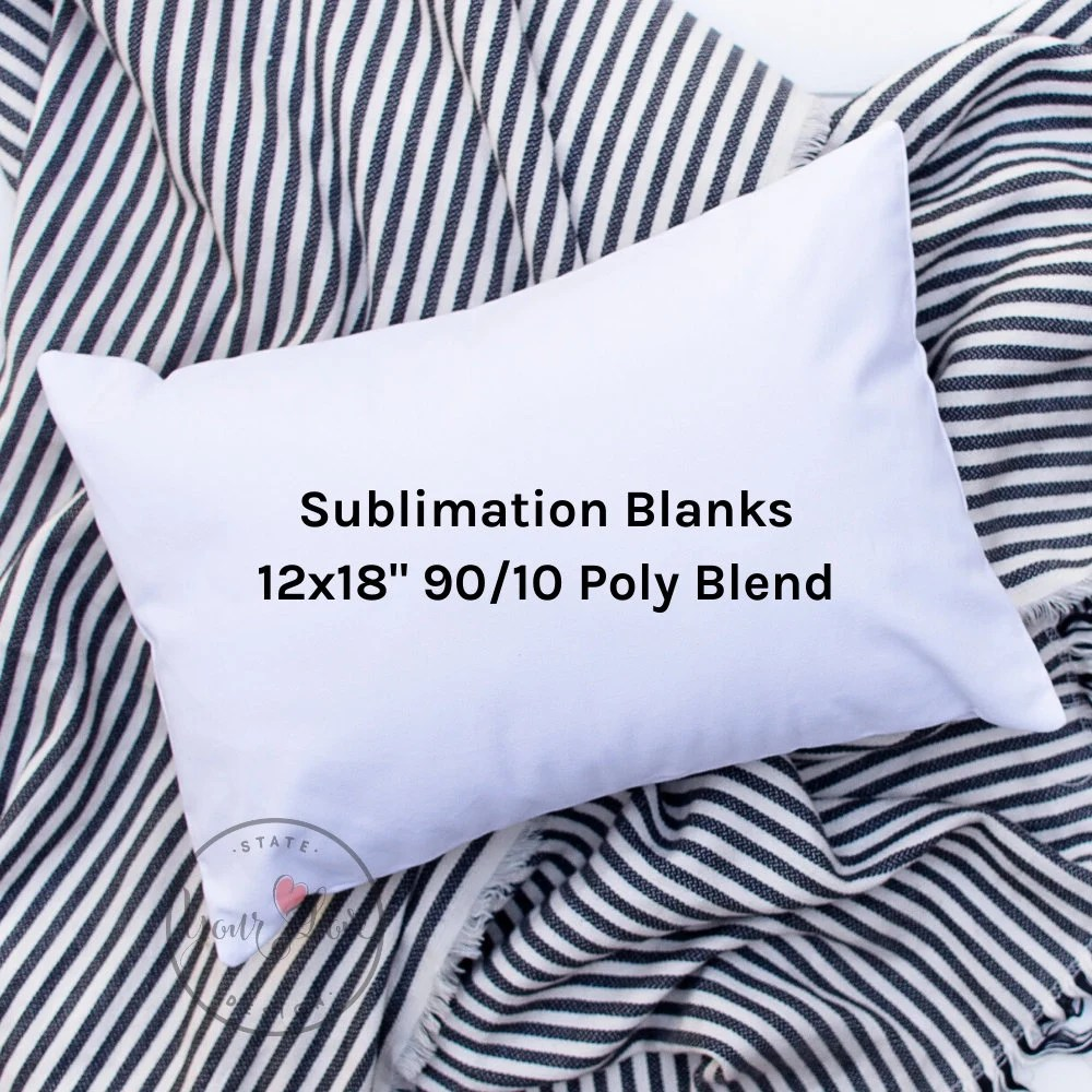 state your love design wholesale pillow cover blanks