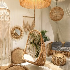 Cane Hanging Chair New Zealand Parson Covers Rattan Etsy Siren Hammock Natural