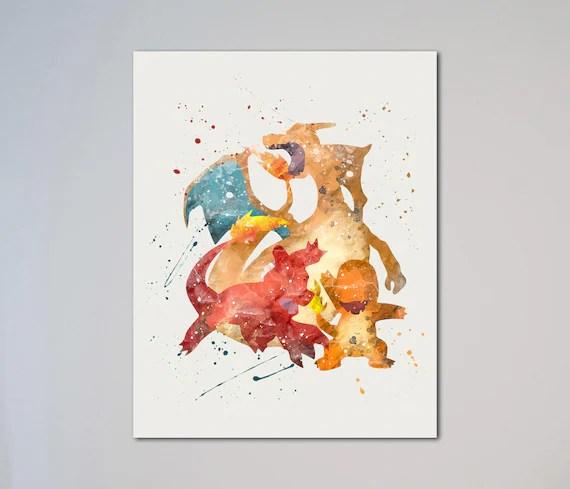 Charizard Print