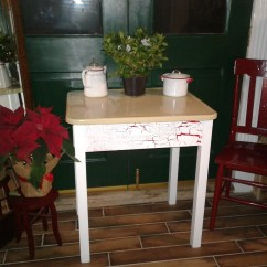 Antique Kitchen Tables Remodeling Sacramento Vintage Table Etsy 1940 S Porcelain Top Great Utility Work Surface Unusual Yellow Enamel Has Drawer Custom Colors Available
