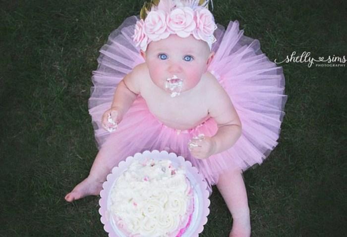 Baby Girl First Birthday Outfit Cake Smash Boho Baby Girl Etsy