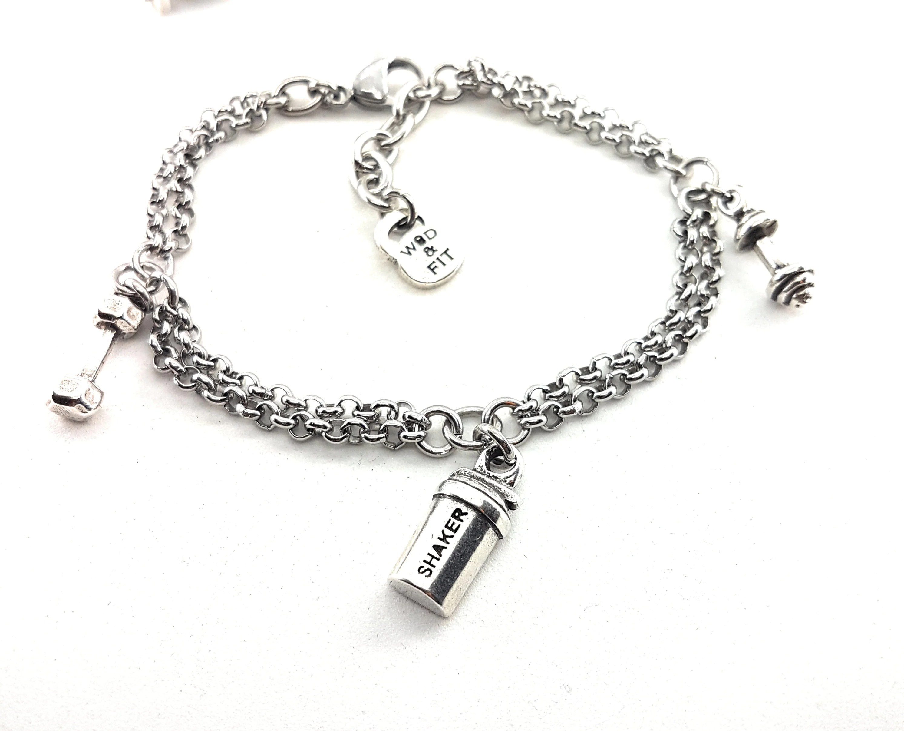 Bracelet Metcon Barbell Amp Dumbbell Workout In Stainless