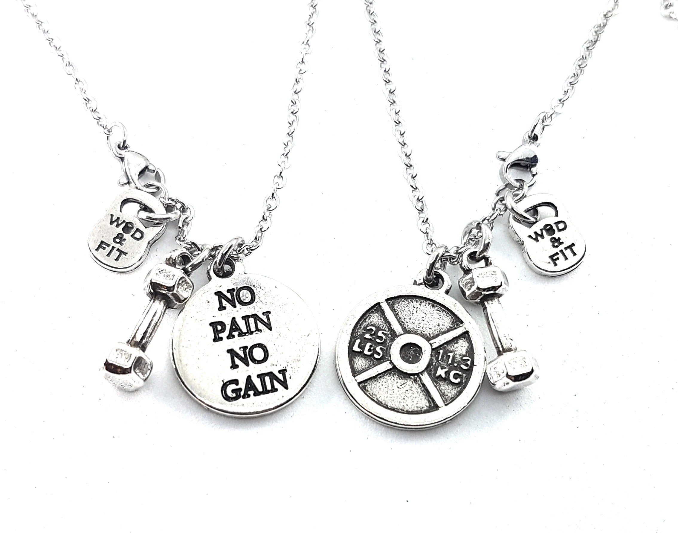 Necklace Custom Weight Plate 25lbsstom T Fitness