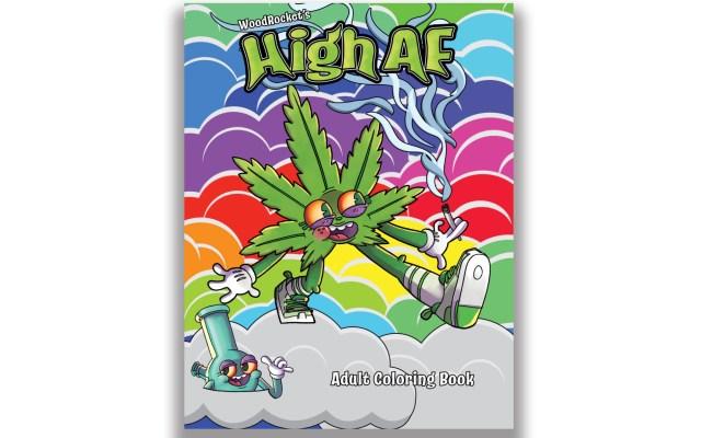 High AF Adult Coloring Book  Etsy
