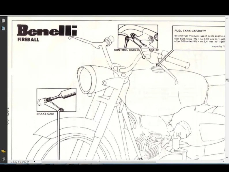 BENELLI WARDS COBRA Service Parts Manuals Set for Repair