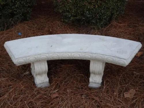 concrete bench patio bench park bench garden bench patio etsy