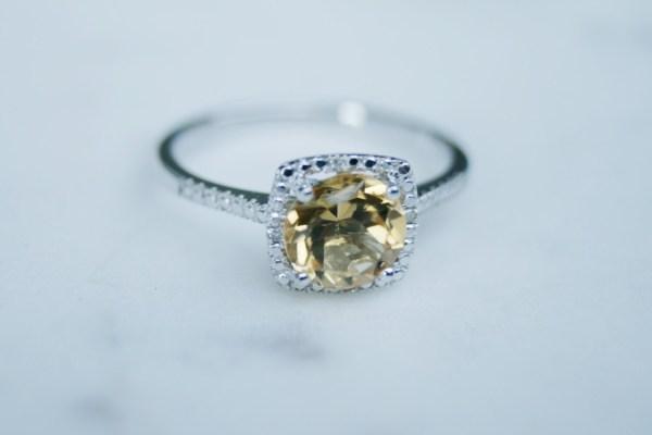 Citrine Birthstone Ring November