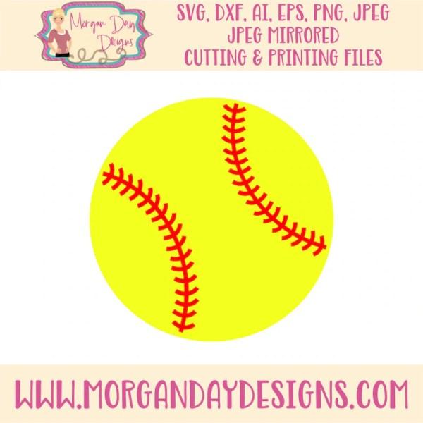 softball svg clip art
