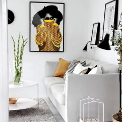 Afrocentric Living Room Ideas Ralph Lauren Furniture Melanin Art Etsy Ayaba Poster Print Home Decor Artist African Wall Black Girl Magic Kubitees
