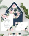 Wedding Invitation Template With Envelope Liners Wedding Etsy