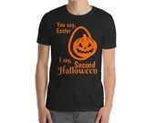 The Second Halloween Over Easter Gildan 64000 Unisex Softstyle T-Shirt with Tear Away Label