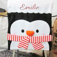 Christmas Chair Back Covers Ireland Best Office Chairs For Support Custom Table Names Decorations Etsy Personalised Cover Linens Tableware Slip Home Decor