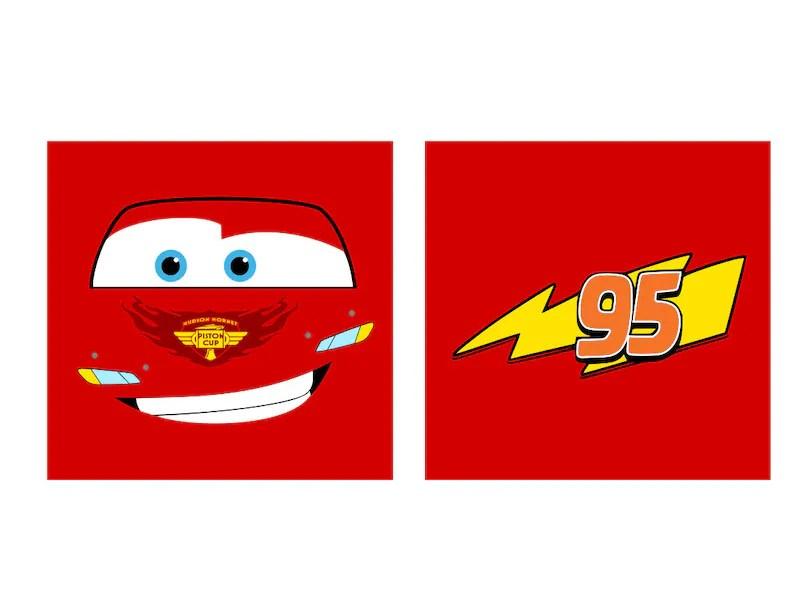 cars faces lightning mcqueen