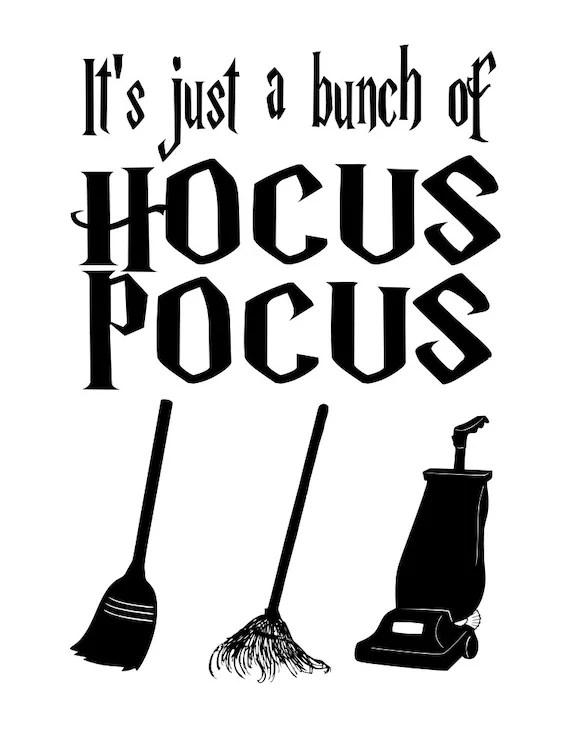 Hocus Pocus Svg : hocus, pocus, Bunch, Hocus, Pocus