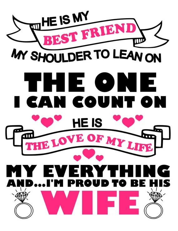 Download Items similar to Proud to be your Husband and Proud to be ...