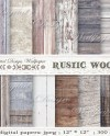 Commercial Usewhite Woodwood Digital Paper Rustic Wood Etsy