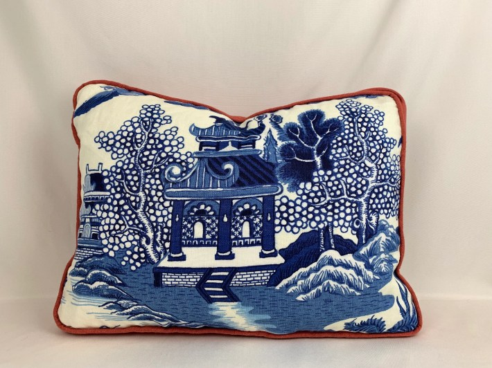 Designer Pillow Blue and ...