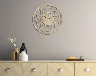 Living Room Clock Etsy