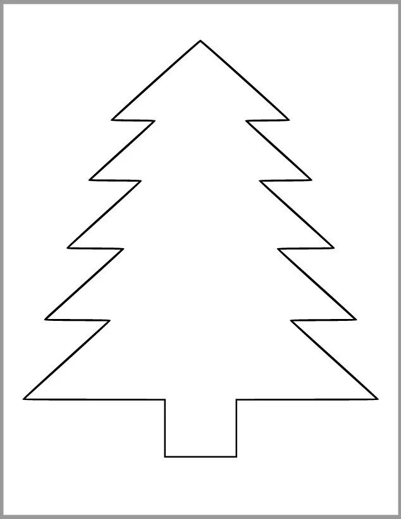 tree cutout template