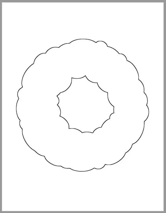 wreath template pdf # 0