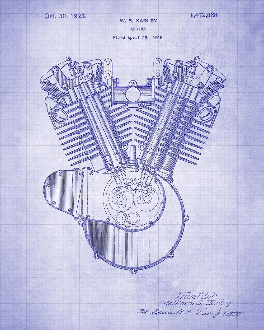 medium resolution of harley internal combustion engine patent art print harley davidson motorcycle engine patent art print harley davidson patent print